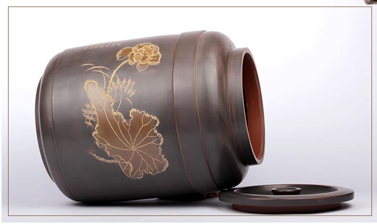 钦州坭兴陶水罐水缸