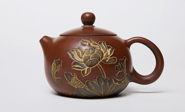 马武宏坭兴陶精品茶壶
