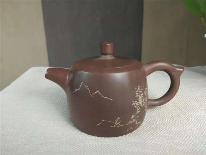 省级大师张振和坭兴陶茶壶精品