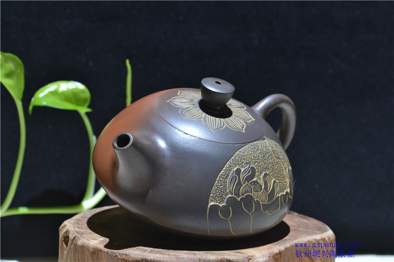 钦州坭兴陶窑变壶